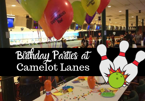 Birthday parties at Camelot Lanes