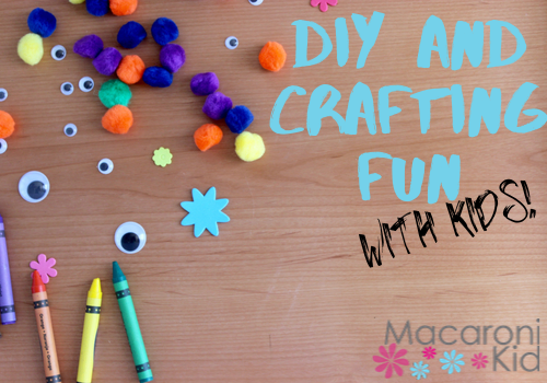 DIY and Crafting fun with kids