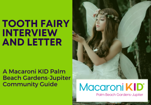 An Interview With the Tooth Fairy, Plus a FREE Letter For Your Child!