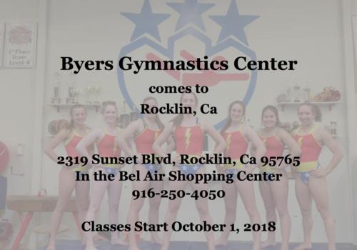 Byers Gym open in Rocklin CA