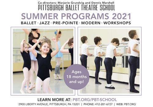 LeadImage PBT Pittsburgh Ballet Theatre School Summer Camp 2021Summer21 - Nicole Sauter (1)