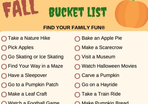 Fall Bucket List for Roseville Rocklin Lincoln CA
