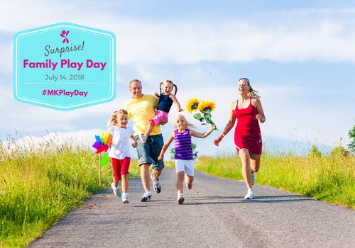 Surprise Family Play Day July 14, 2018