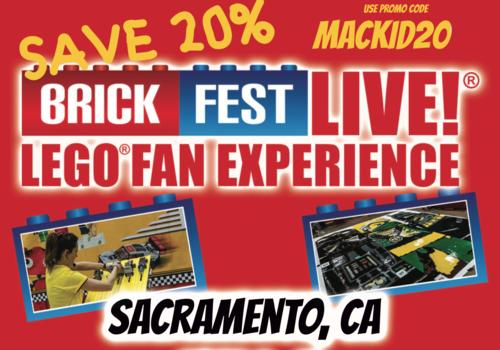 Brick Fest Live Sacramento