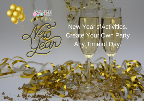 New Year's Activities. Create Your Own Party