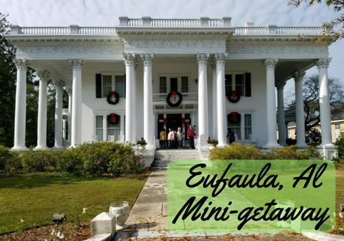 The Shorter Mansion in Eufaula, Alabama