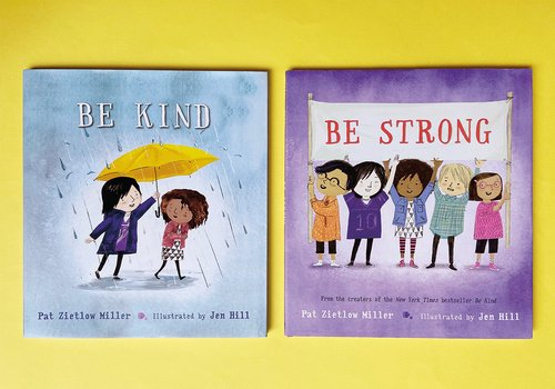 Be Kind/Be Strong book covers