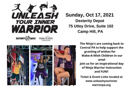 Unleash Your Inner Warrior on October 17