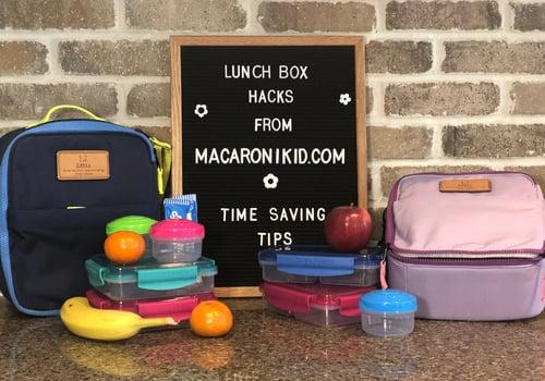 Lunch box hacks