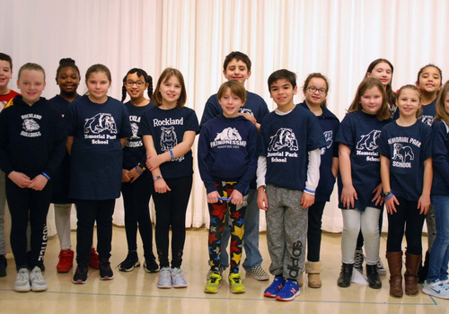 Rockland's Memorial Park School convinces town to celebrate a town wide kindness day of Feb 14, 2020