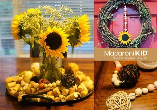 Sunflower, Decor, Blessing Beads