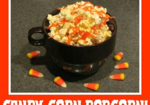 Candy Corn Popcorn!