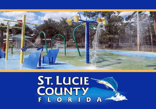 St. Lucie County Pools Splash Pad