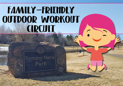 Family-Friendly Outdoor Workout Circuit at Tommy Davis Park in Greenwood Village, Colorado