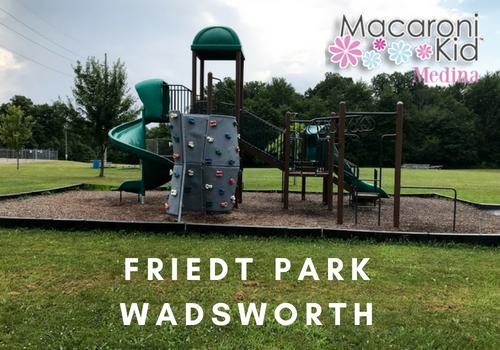 friedt park wadsworth playground