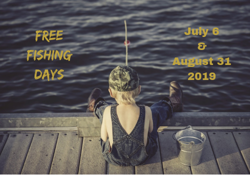 Free Fishing Days for 2019 in California