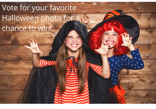 Vote for your favorite Halloween photo for a chance to win