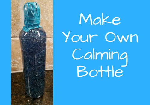 How to make your own calming bottle or glitter jar