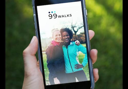 99 Walks app
