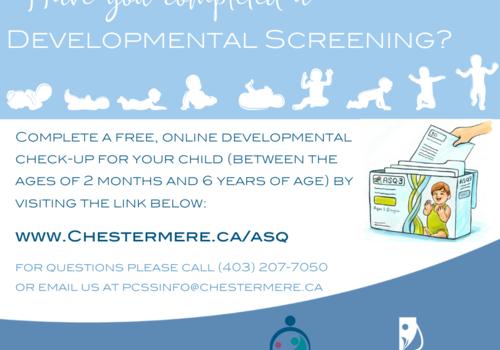 Developmental screening