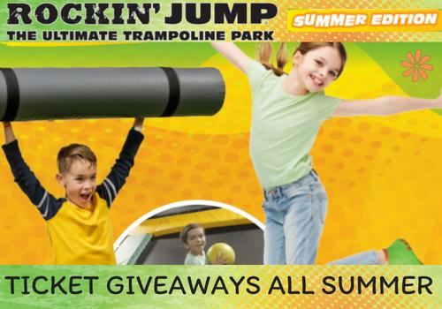 Giveaway for Rockin' Jump Roseville