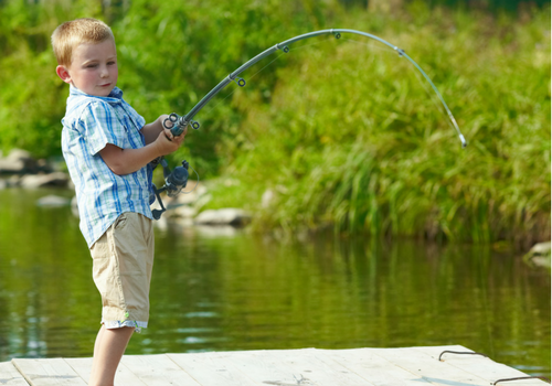 boy fishing free Harrisburg Pennsylvania Mechanicsburg Camp Hill New Cumberland Cumberland County 717 Kids Family Fun Toddler Preschooler activities