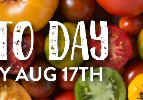 Easton Farmer's Market Tomato Day August 17th, 2019 Easton, PA