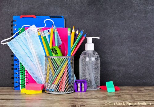 Back to School Supplies during COVID