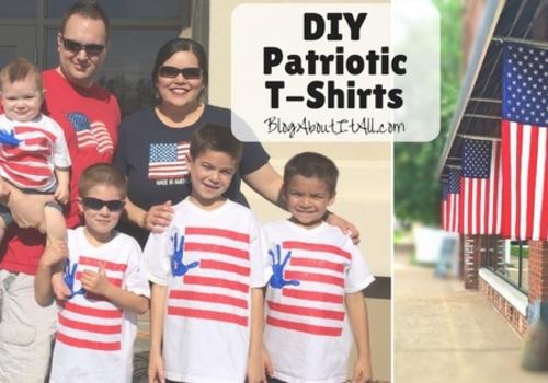 DIY Patriotic Tshirts
