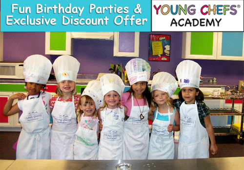 Young Chef Academy Gahanna Ohio Birthday Party Discount