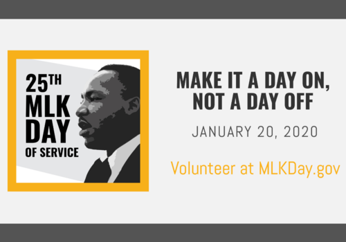 25th MLK Day of Service: Make it a day on, not a day off