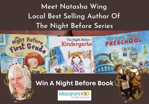 Night Before Natasha Wing Author Giveaway