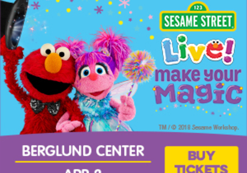 Sesame Street Live at the Berglund Center Roanoke