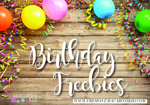 Birthday Freebies Article