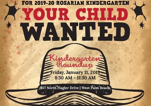 Kindergarten Roundup Rosarian Academy