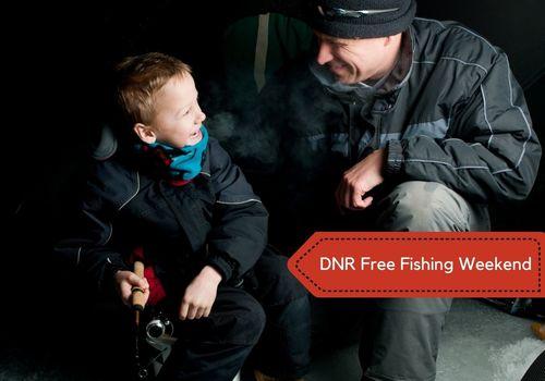 Winter Ice Fishing Free Courtesy of Michigan DNR