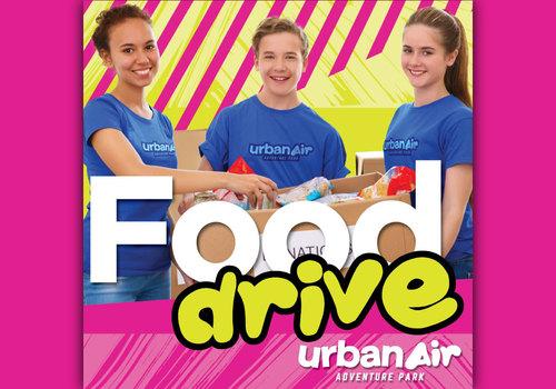 Urban Air Adventure Park PSL Food Drive