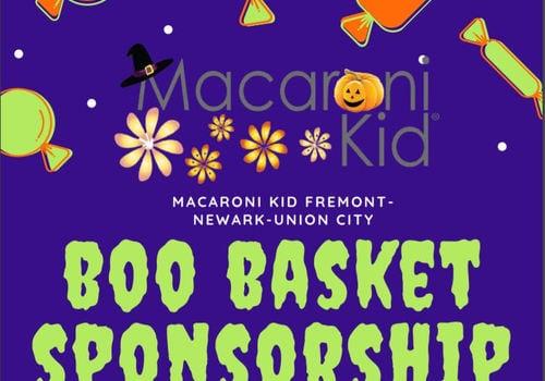 Boo Basket Halloween Sponsorship