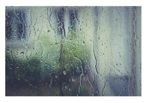 rain rainy day inside