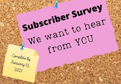 Subscriber Survey