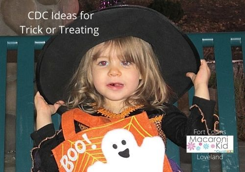 CDC Ideas for Staying Safe Trick or Treating