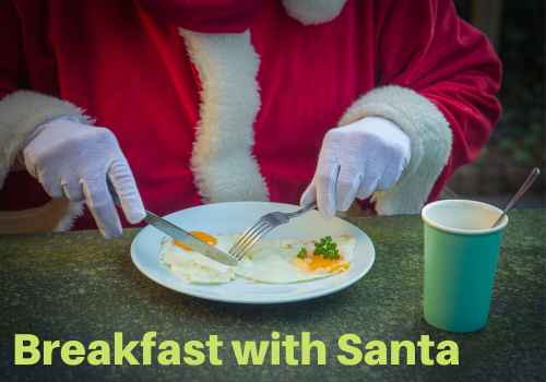 Breakfast Santa Harrisburg West Shore Pennsylvania Central PA harrisburg new cumberland camp hill enola linglestown mechanicsburg west shore dauphin cumberland county things to do events happenings
