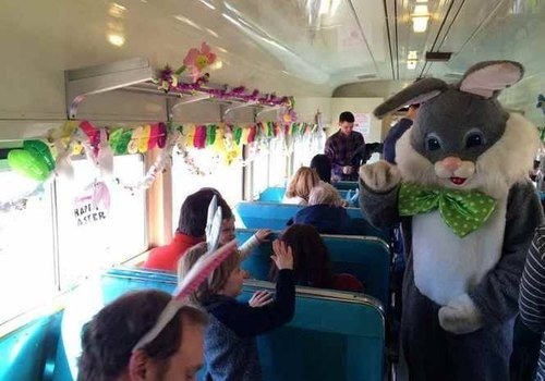 Easter Bunny Train Ride and Egg Hunt with Delaware River Railroad Excursions