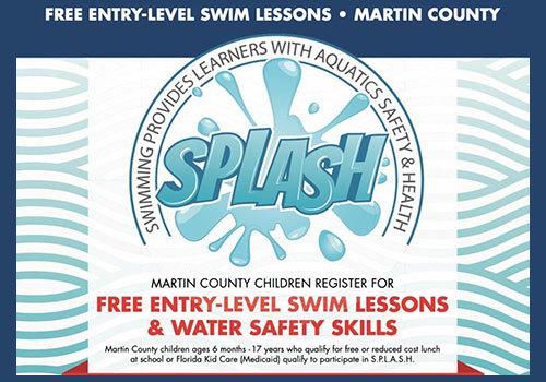 SPLASH Entry Level Swim Lessons for children