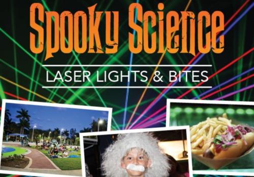 Spooky Science Laser Lights & Bites: South Florida Science Center & Aquarium