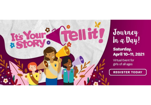 Girl Scouts of Southeast Florida Journey in a Day It's Your Story Tell It