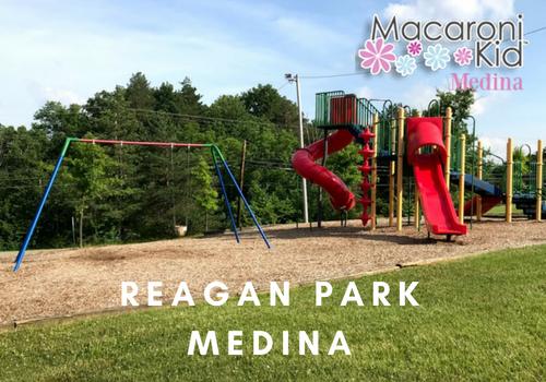 reagan park playground medina