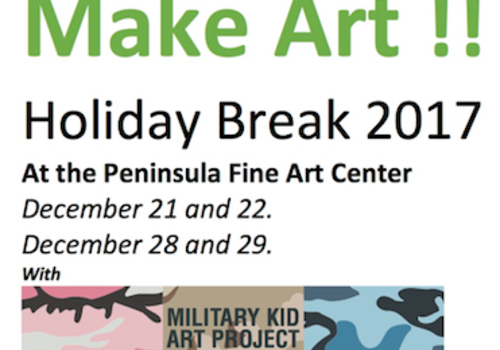 WinArt Camp at the Peninsula Fine Art Center