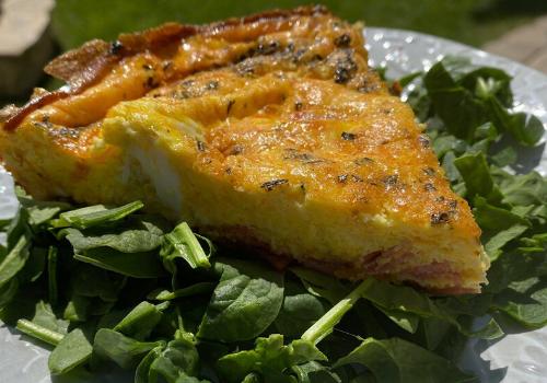 Egg Frittata Breakfast Skillet Quiche