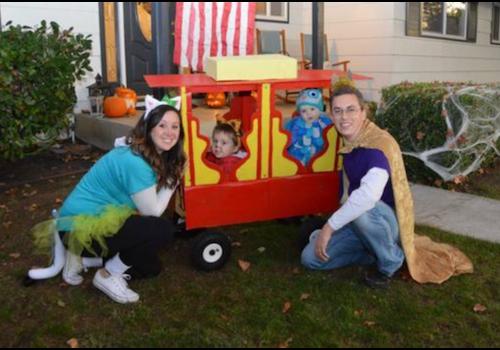 Wagon decoration halloween ideas